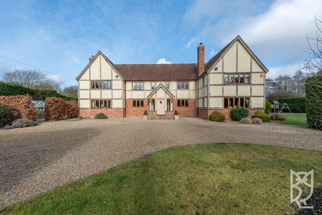 Thumbnail Detached house for sale in Lamarsh Road, Alphamstone, Bures