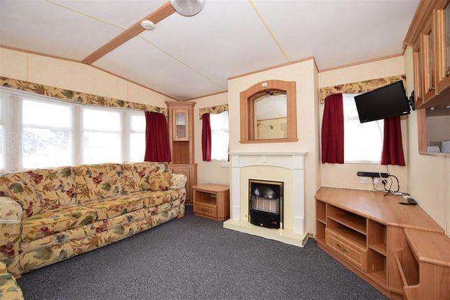 Lounge Area of Sandhills Holiday Park, Whitecliff Bay, Bembridge, Isle Of Wight PO35