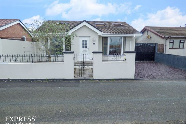 Thumbnail Detached bungalow for sale in Hengoed Avenue, Cefn Hengoed, Hengoed, Caerphilly