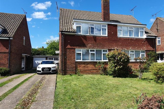 Semi-detached house to rent in Ramsey Close, Canterbury