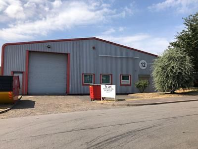 Thumbnail Light industrial to let in Unit 12, Burrell Way Trade Park, Thetford, Norfolk