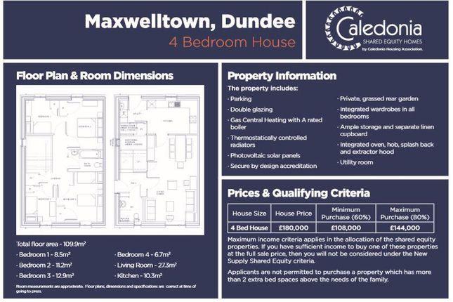 4 Bed Maxwelltown 1st Insert