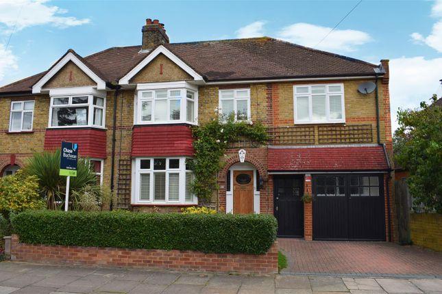 Thumbnail Semi-detached house to rent in Cranmer Road, Hampton Hill, Hampton