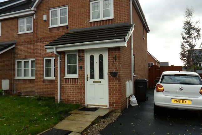 Thumbnail Semi-detached house to rent in Bedfordshire Close, Chadderton, Oldham