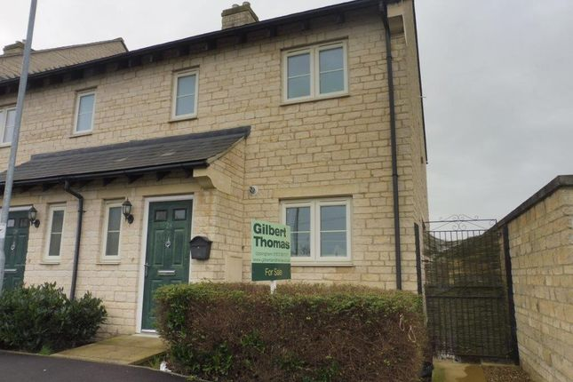Thumbnail End terrace house for sale in Thistleton Lane, South Witham, Grantham