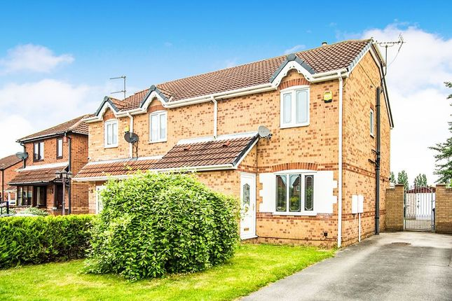 Thumbnail Semi-detached house for sale in Lords Close, Edlington, Doncaster