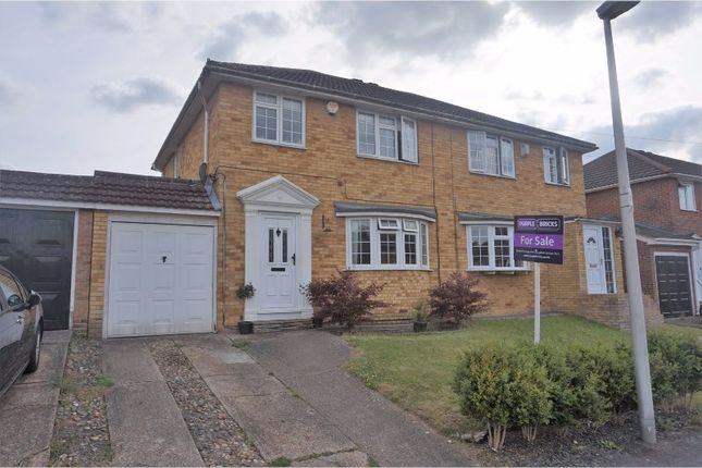 3 bed semi-detached house for sale in The Hazels, Wigmore, Gillingham