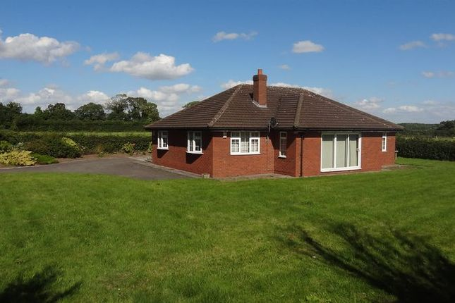 Thumbnail Detached bungalow for sale in Wilmore Hill Lane, Hopton, Stafford