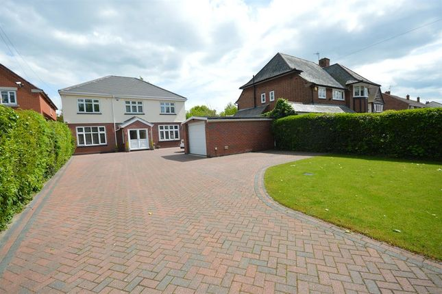 Thumbnail Detached house for sale in Lutterworth Road, Aylestone, Leicester
