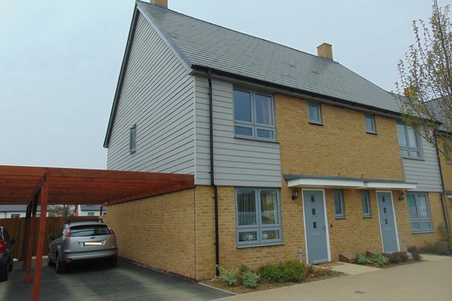 Thumbnail Semi-detached house to rent in Repton Avenue, Ashford