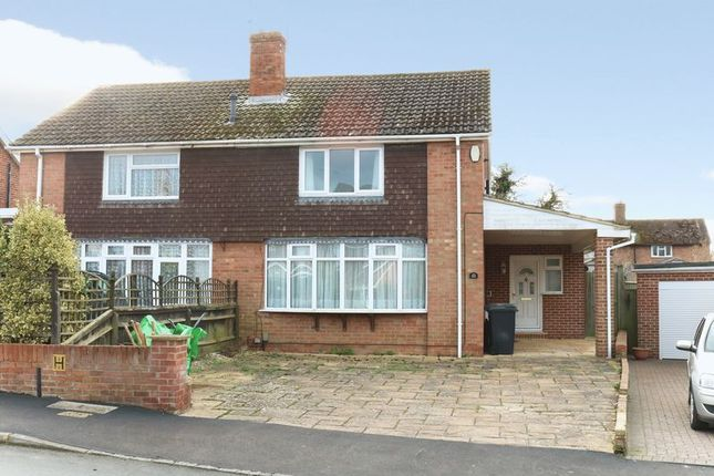 Thumbnail Semi-detached house to rent in Rothwells Close, Cholsey, Wallingford
