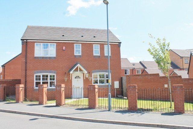 Thumbnail Detached house for sale in Plants Brook Crescent, Erdington, Birmingham
