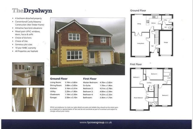 Thumbnail Detached house for sale in Rhodfa'r Gwendraeth, Kidwelly