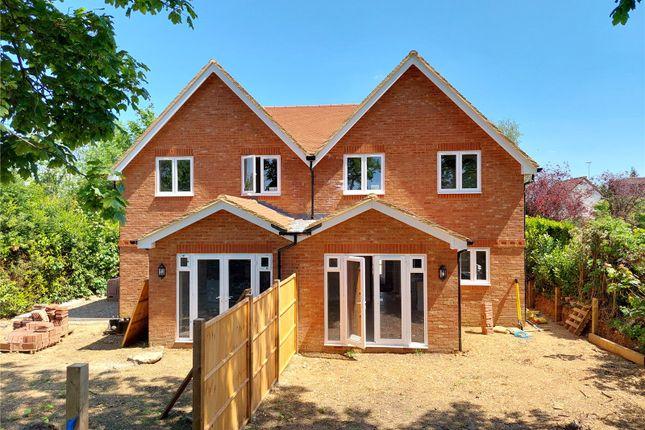 Thumbnail Semi-detached house for sale in Little Green Lane, Farnham, Surrey
