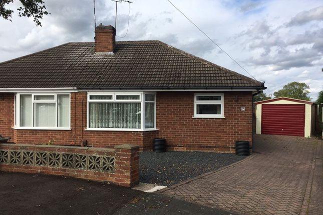 Thumbnail Bungalow to rent in Findon Close, Bulkington
