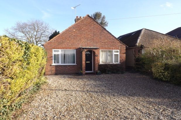 Thumbnail Bungalow to rent in Wilbraham Road, Fulbourn, Cambridge