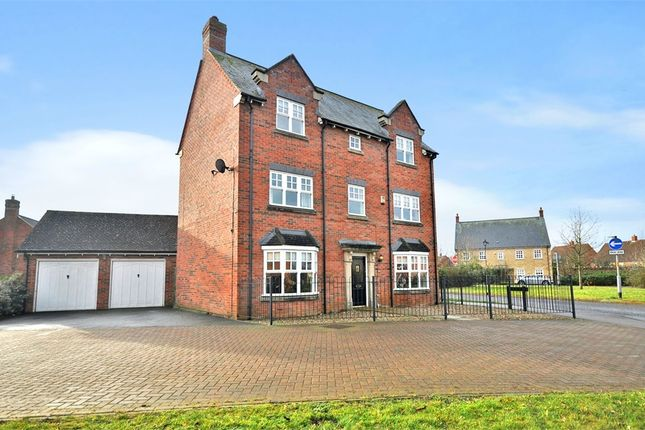 Thumbnail Detached house for sale in Main Street, Mawsley Village, Kettering, Northants