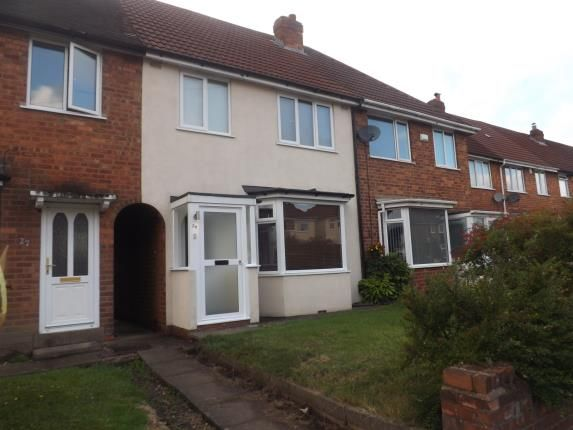 Thumbnail Terraced house for sale in Clinton Road, Solihull, West Midlands, England