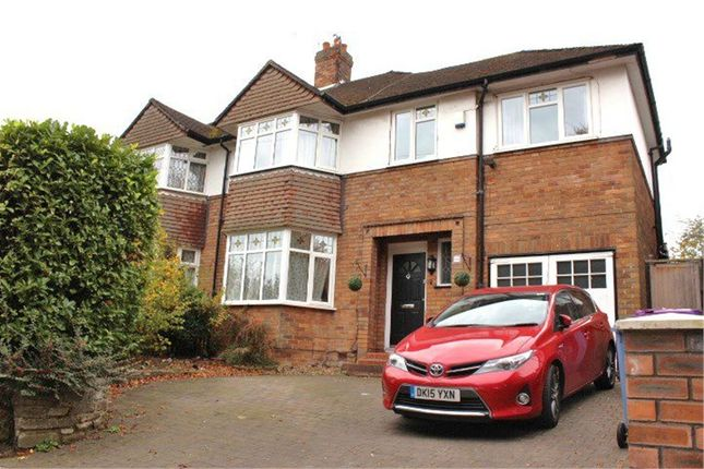 Semi-detached house for sale in Woolton Road, Woolton, Liverpool, Merseyside
