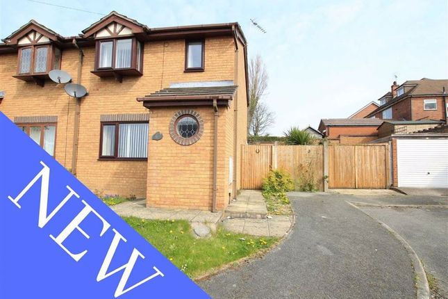 2 bed semi-detached house for sale in Moorefields, Buckley, Flintshire CH7