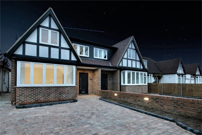 Thumbnail Semi-detached house for sale in Manorway, Enfield, Greater London