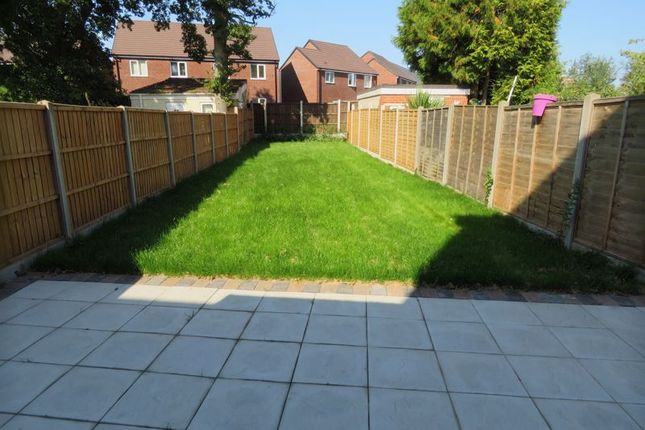 Rear Garden of Brooklands Road, Hall Green, Birmingham B28