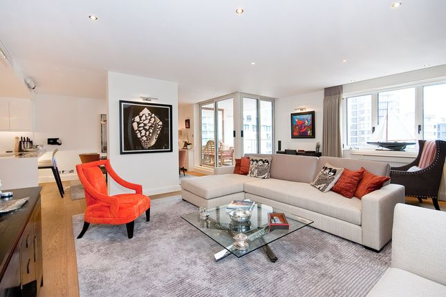Thumbnail Flat to rent in Kings Quay, Chelsea Harbour
