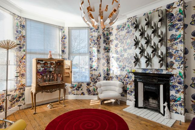 Thumbnail Town house to rent in Wrottesley Road, London