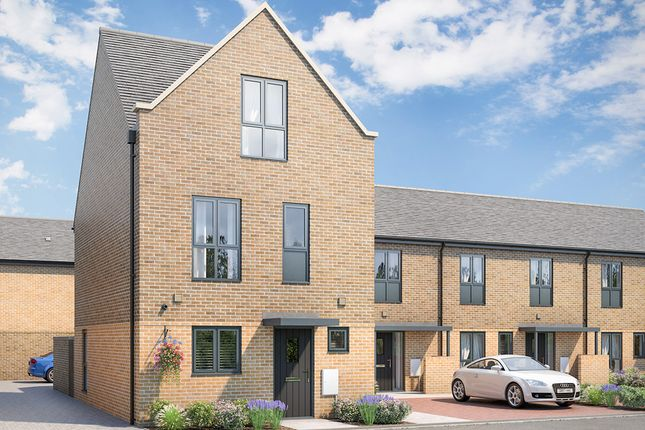 Thumbnail End terrace house for sale in Keaton Way, Off Commonside Road, Harlow, Essex