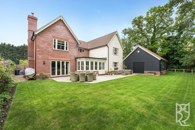 Thumbnail Detached house for sale in Ardleigh, Dedham Road, Colchester