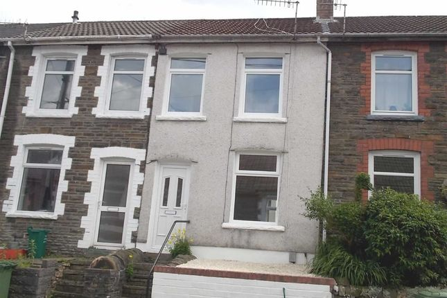 Thumbnail Terraced house to rent in Phillip Street, Graig, Pontypridd