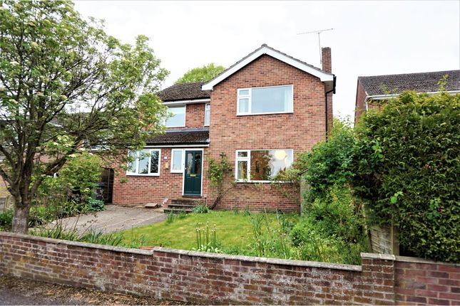 Thumbnail Detached house for sale in Dalby Crescent, Newbury