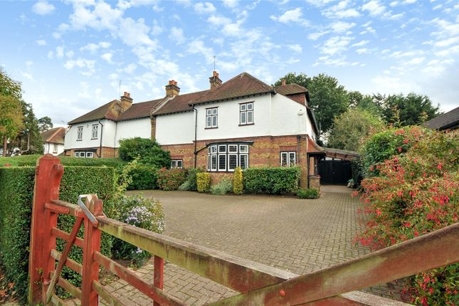 Thumbnail Semi-detached house for sale in Savernake, Manor Road, Ruislip, Middlesex