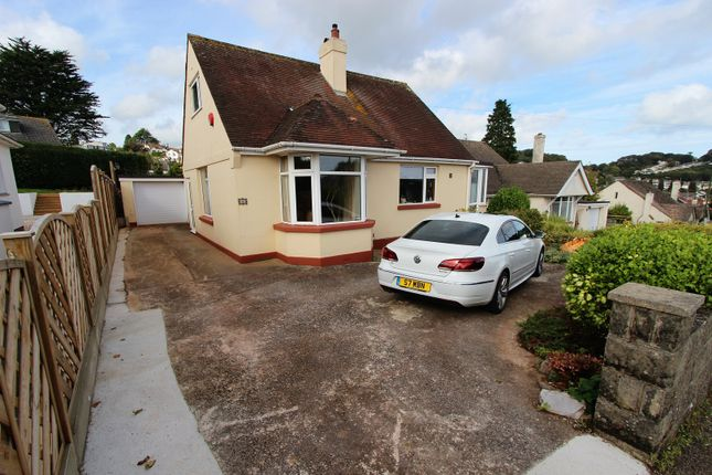 Thumbnail Detached bungalow for sale in Barchington Avenue, Torquay