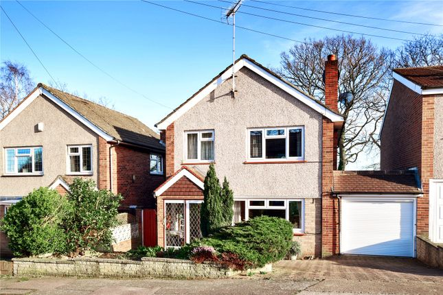 Thumbnail Detached house for sale in Chalet Close, Joydens Wood, Kent