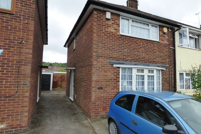 Thumbnail End terrace house for sale in Dallow Rd, Luton