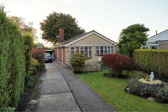Thumbnail Detached bungalow for sale in Glebe Close, Chesterfield