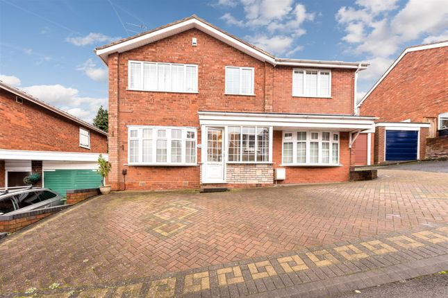 Thumbnail Detached house for sale in The Rise, Kingswinford