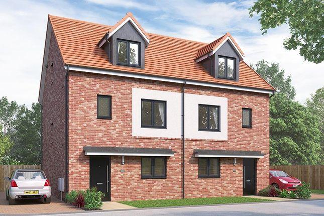 "Thumbnail Semi-detached house for sale in ""The Weybridge"" at Vigo Lane, Chester Le Street"