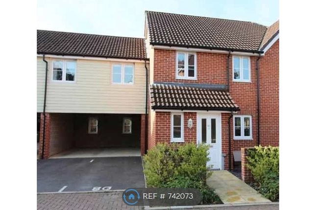 Thumbnail Terraced house to rent in Hut Farm Place, Chandler's Ford, Eastleigh