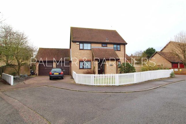 Thumbnail Detached house for sale in Greenfinch End, Longridge Park, Colchester