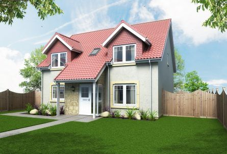 Thumbnail Detached house for sale in The Orchid, Off Cupar Road, Leven, Fife