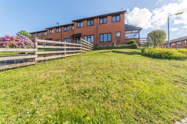 Thumbnail End terrace house for sale in Merchants Hill Close, Pontnewynydd, Pontypool