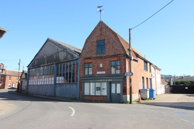 Thumbnail Retail premises for sale in Former Chambers Bus Depot, High Street, Bures, Suffolk
