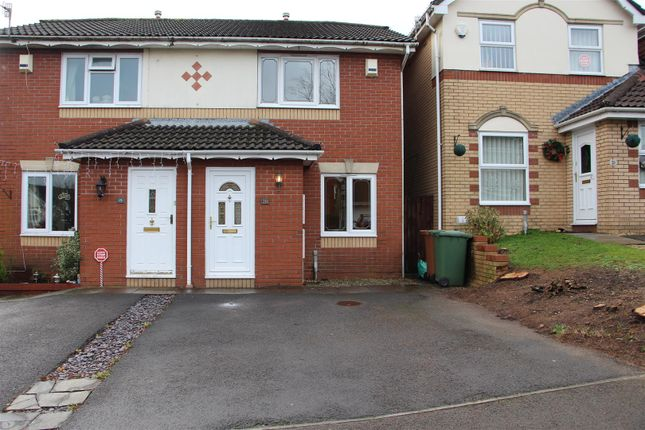 Thumbnail Semi-detached house to rent in Badham Close, Caerphilly