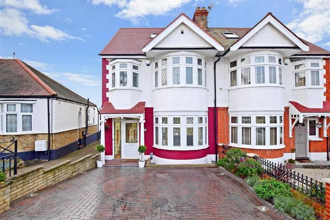 Thumbnail Semi-detached house for sale in Sunset Avenue, London