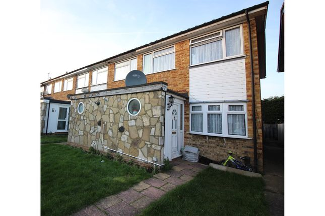 Thumbnail End terrace house for sale in Chichester Way, Feltham