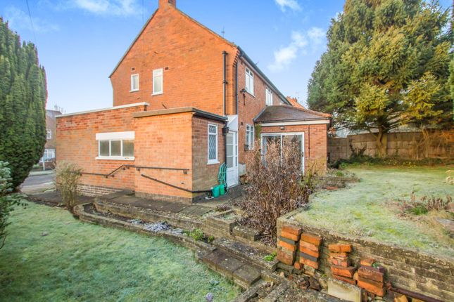 Thumbnail Semi-detached house for sale in Brampton Avenue, Western Park, Leicester
