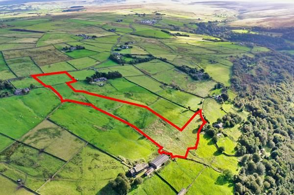 Thumbnail Commercial property for sale in Land Off Coppy Nook Lane, Coppy Nook Lane, Cragg Vale, Halifax