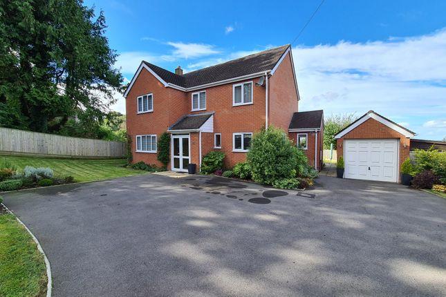 Thumbnail Detached house for sale in New Caravan Site, Salisbury Road, Shaftesbury